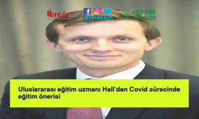 Uluslararası eğitim uzmanı Hall'dan Covid sürecinde eğitim önerisi