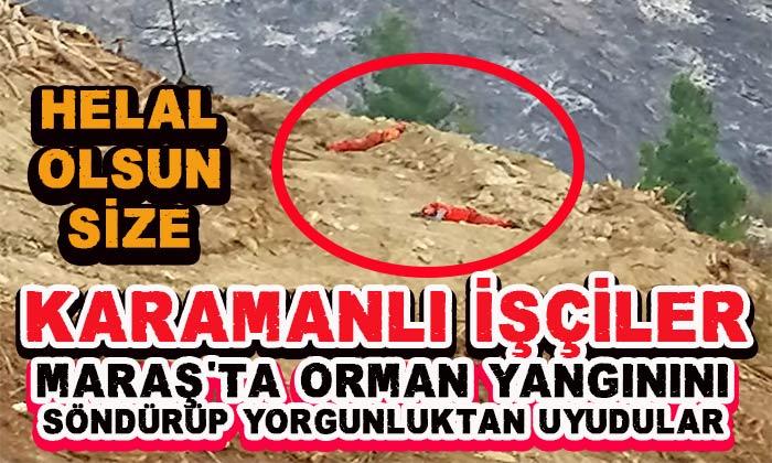 Karamanlı işçilerin fedakarlıkları Türkiye'de gündem oldu