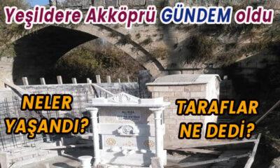 Akköprü yanına yapılan yapı gündem oldu! Taraflar ne dedi?