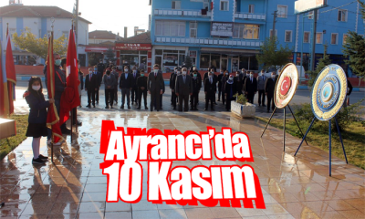 Ayrancı'da 10 Kasım