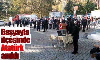 Başyayla'da Atatürk Anıldı