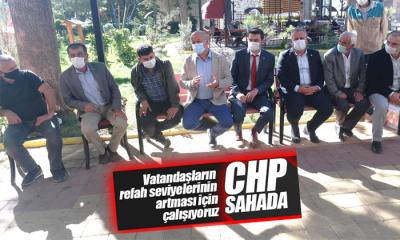 CHP Karaman Teşkilatı Sahada