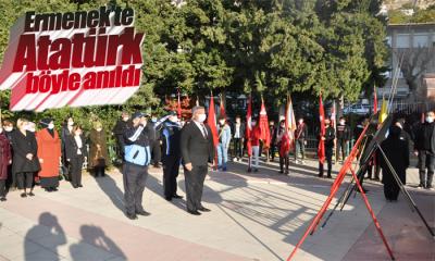 Ermenek'te 10 Kasım Atatürk'ü Anma Programı Düzenlendi