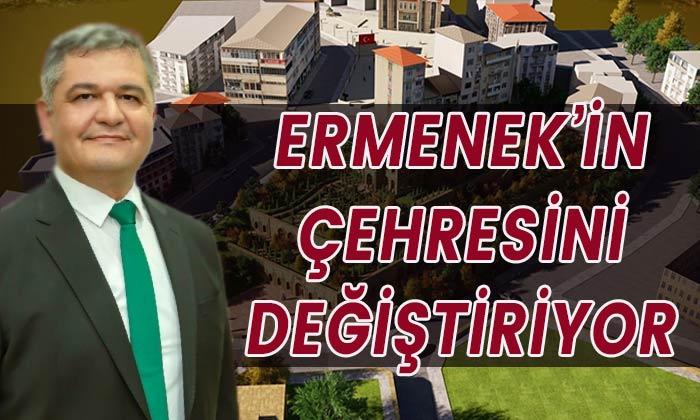 Ermenek'in çehresini değiştiriyor