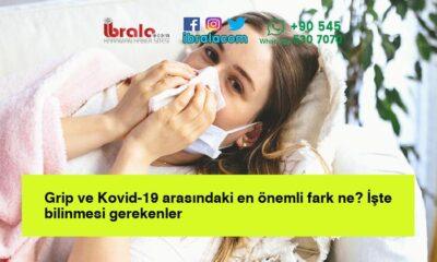 Grip ve Kovid-19 arasındaki en önemli fark ne? İşte bilinmesi gerekenler