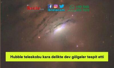 Hubble teleskobu kara delikte dev gölgeler tespit etti