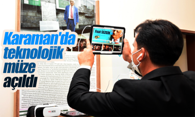 Karaman'da Teknolojik Müze Açıldı