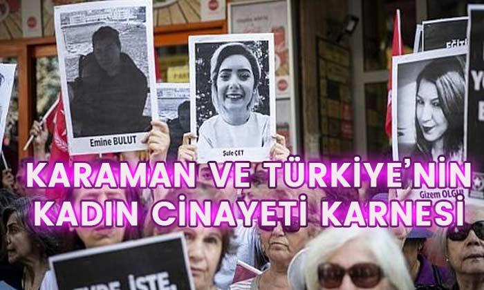 Karaman ve Türkiye'de kadın cinayeti karnesi