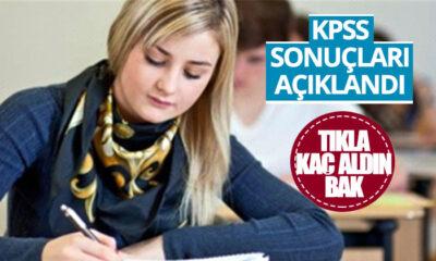 KPSS Sonuçları Açıklandı! Tıkla Kaç Aldın Bak