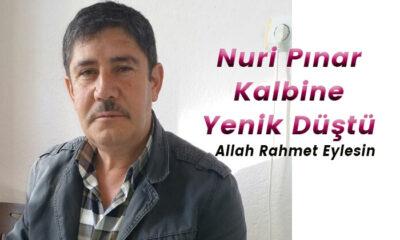 Karaman'da kalbine yenik düşerek vefat etti