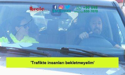 'Trafikte insanları bekletmeyelim'