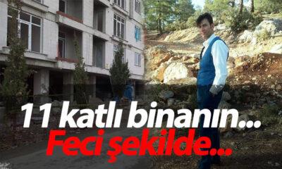 Karaman'da İnşaat İşçisi 11 Katlı Binanın…