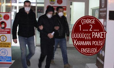 33 İlde Hırsızlık Yaptı Karaman'da Paketlendi