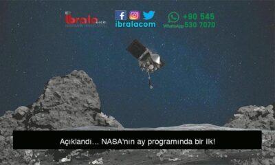 Açıklandı… NASA'nın ay programında bir ilk!