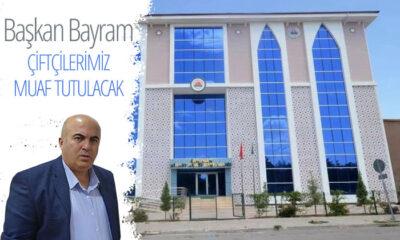 Karaman Ziraat Odası Başkanı Bayram: Çiftçilerimiz Muaf Tutulmuştur