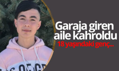 Karaman'da Garaja Giren Aile Kahroldu : 18 Yaşındaki Genç…