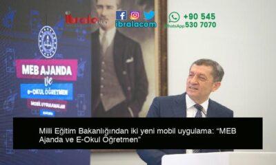 """Milli Eğitim Bakanlığından iki yeni mobil uygulama: """"MEB Ajanda ve E-Okul Öğretmen"""""""