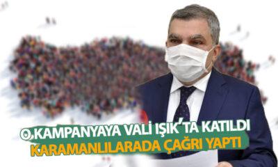 Vali Işık Karamanlılara Çağrı Yaptı