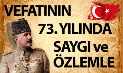 Kazım Karabekir'i Vefatının 73. Yılında Anıyoruz.