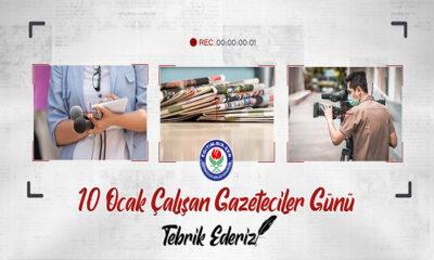 Karaman Memur Sen ve Eğitim Bir-Sen Şube Başkanı Yunus Özdemir'in 10 Ocak Mesajı