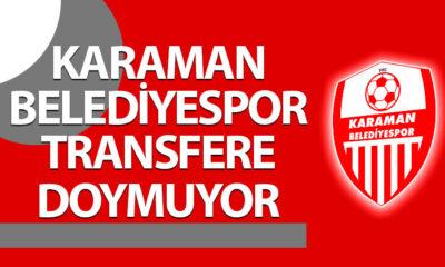 Karaman Belediyespor Transfere Doymuyor