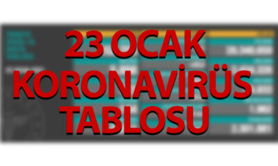 23 Ocak Koronavirüs Tablosu, 144 ÖLÜM