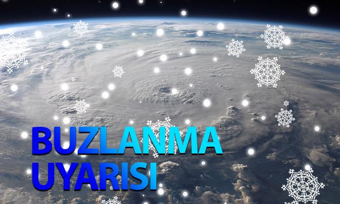 Karaman, Konya Aksaray Ve Niğde İçin Buzlanma Ve Don Uyarısı