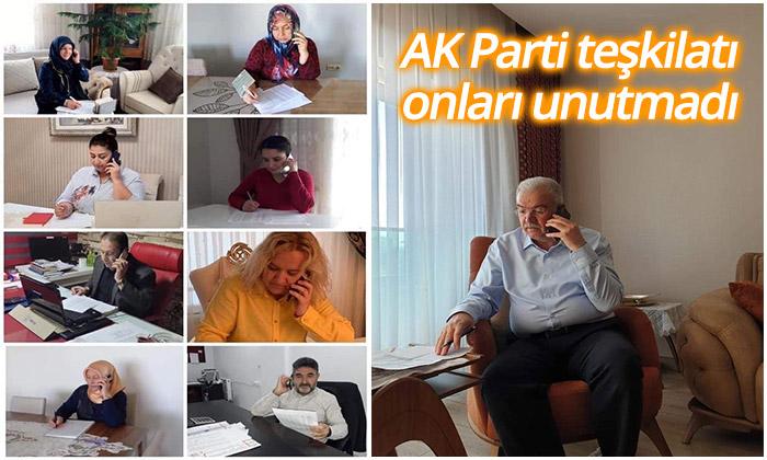AK Parti Teşkilatı Onları Unutmadı