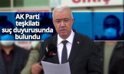 Karaman AK Parti Teşkilatı Suç Duyurusunda Bulundu