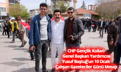 CHP Gençlik Kolları Genel Başkan Yardımcısı Baştuğ'dan 10 Ocak Mesajı