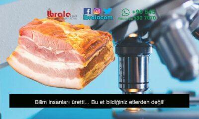 Bilim insanları üretti… Bu et bildiğiniz etlerden değil!
