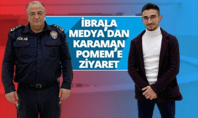 İbrala Medya'dan Karaman POMEM'e Ziyaret