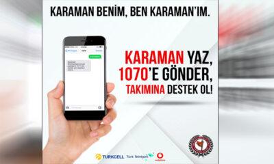 Karaman Belediyespor İçin SMS Kampanyası Başlatıldı
