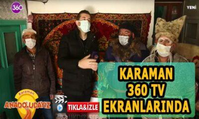 Karaman 360 TV'de tanıtıldı Tıkla programı izle