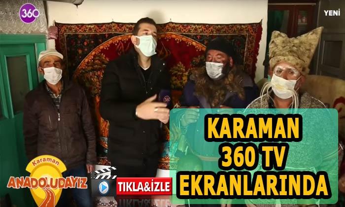 Karaman 360 tvde tanıltıldı