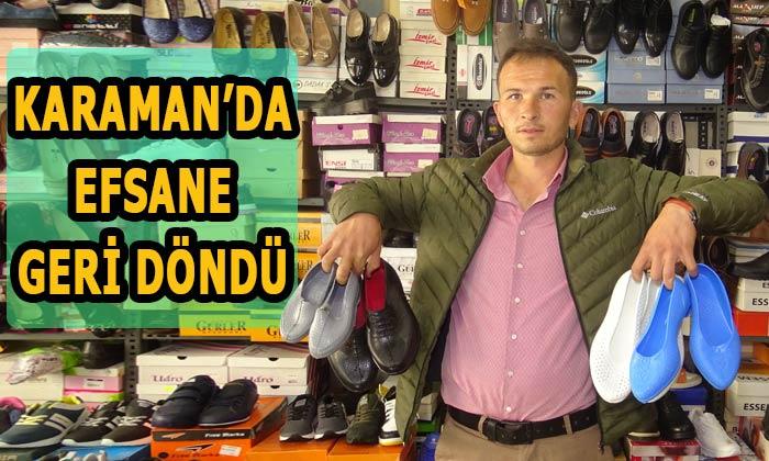 Karaman'da efsane geri döndü