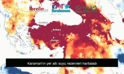 Karaman'ın yer altı suyu rezervleri haritaladı