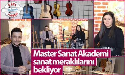 Master Sanat Akademi Sanat Meraklılarını Bekliyor