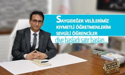 İl Müdürü Mehmet Çalışkan'dan Yarıyıl Mesajı