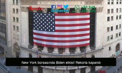 New York borsasında Biden etkisi! Rekorla kapandı