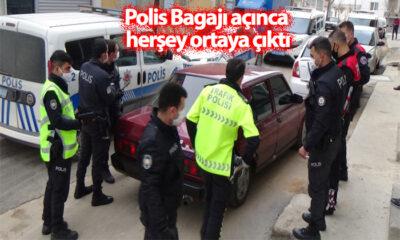 Polis Bagajı Açınca Herşey Ortaya Çıktı