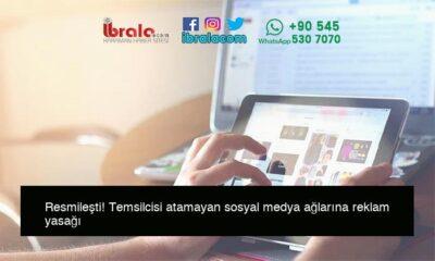 Resmileşti! Temsilcisi atamayan sosyal medya ağlarına reklam yasağı