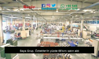 Saya Grup, Öztekfen'in yüzde 66'sını satın aldı