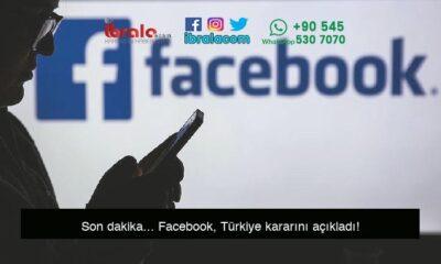 Son dakika… Facebook, Türkiye kararını açıkladı!
