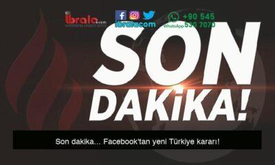 Son dakika… Facebook'tan yeni Türkiye kararı!
