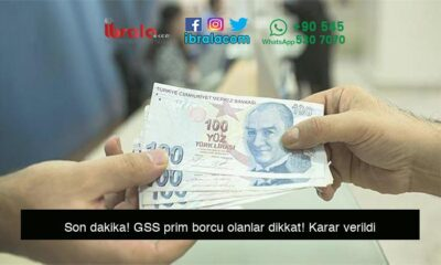 Son dakika! GSS prim borcu olanlar dikkat! Karar verildi