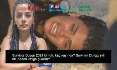 Survivor Duygu 2021 kimdir, kaç yaşında? Survivor Duygu evli mi, neden kavga çıkardı?