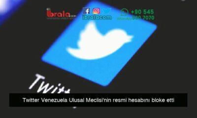 Twitter Venezuela Ulusal Meclisi'nin resmi hesabını bloke etti