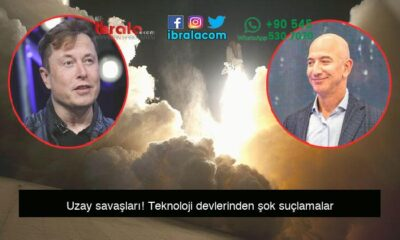 Uzay savaşları! Teknoloji devlerinden şok suçlamalar