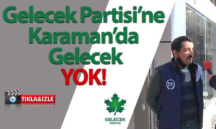 """Davutoğlu'nu Halka Sorduk; Karaman Halkı """"GELECEK"""" Yok Dedi"""